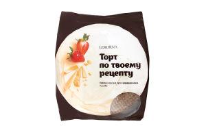 Коржи для торта вафельные с добавлением какао Lekorna м/у 90г