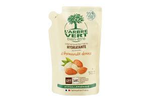 Крем-мыло для рук сладкий миндаль Hydratante L'arbre Vert 300мл
