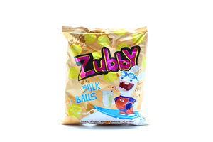 Кукурузные снеки со вкусом топленого молока Zubby м/у 35г