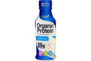 Orgain Organic Protein Nutritional Protein Shake Vanilla Bean