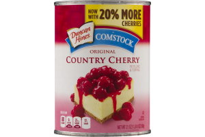 Duncan Hines Comstock Original Country Cherry Pie Filling & Topping