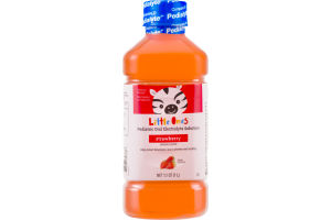 Little Ones Pediatric Oral Electrolyte Solution Strawberry