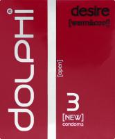 Презервативи анатомічні Desire Dolphi 3шт