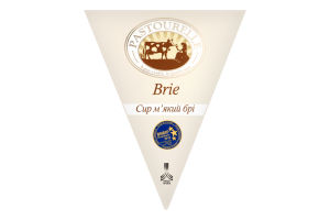 Сыр 50% мягкий Brie Pastourelle к/у 125г