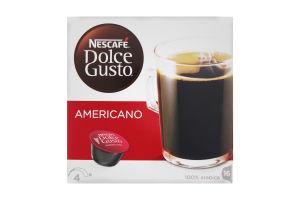 Кава натуральна смажена мелена Americano Nescafe Dolce Gusto 16*10г