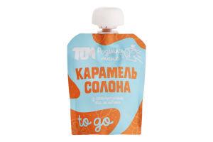 Карамель солона з апельсином та м'ятою Том д/п 64г