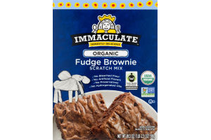 Immaculate Organic Fudge Brownie Scratch Mix