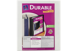 "Avery ½"" Durable View Binder 120-Sheet"