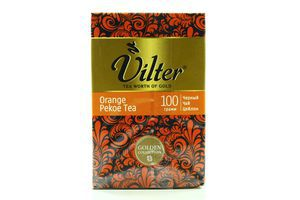 Чай Vilter Orange Pekoe черный к/у 100г
