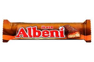 Батончик шоколадный с карамелью и печеньем Albeni Ülker м/у 31г