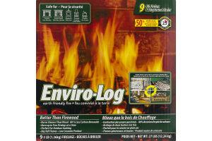 Enviro-Log Firelogs 9 - 3LB