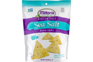 Milton's Craft Bakers Gluten Free Sea Salt Baked Chips