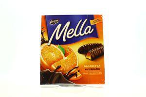 Мармелад Mелла 190г апельсин у чорному шоколаді