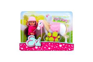 Набір ляльковий Єва та поні 3в Simba 5737463