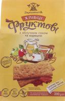 Хлебцы с яблочным соком и корицей Фруктовые Зерновита м/у 200г
