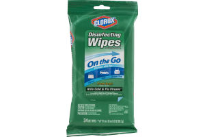Clorox Disinfecting Wipes On the Go Fresh Scent - 34 CT