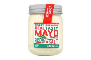 Майонез з розмарином та морською сіллю 68% ТМ REMIA 220 мл