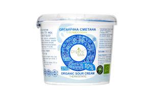 Сметана 10% термостатная Organic Milk ст 270г