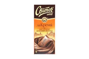 Шоколад молочный Світоч Ла Крема