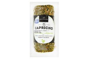 Сир 45% козячий з травами Capricho De Cabra Montesinos лоток 0.145кг