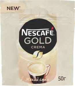 Кава Nescafe Gold Crema 50г х6