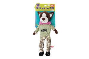 Іграшка м'яка для дітей від 3років №PSN1 Пес Ніко Fancy 1шт