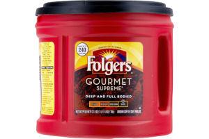 Folgers Gourmet Supreme Dark Roast Ground Coffee