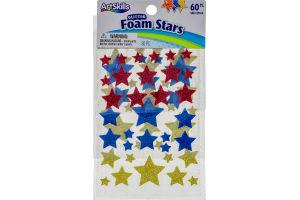 ArtSkills Foam Stars Glitter - 60 PC