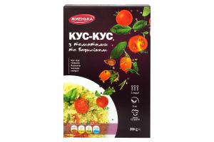 Кус-кус с томатами и базиликом Жменька к/у 200г