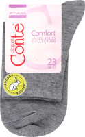 Носки женские Conte Comfort №14С-114СП 23 серый