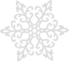 Підвіска Сніжинка Економ 2Д Mislt 1шт