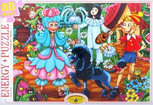 Пазли для дітей від 3-х років Буратіно Київська Фабрика Іграшок 88ел