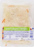 Соління Капуста квашена з морквою Ніжинський КЗ в/у 700г