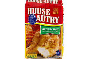 House Autry Medium Hot Seasoned Breading Mix