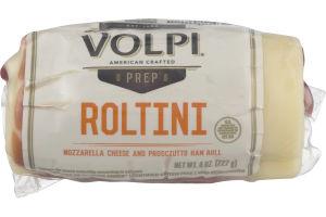 Volpi Roltini Mozzarella Cheese Prosciutto Ham Roll