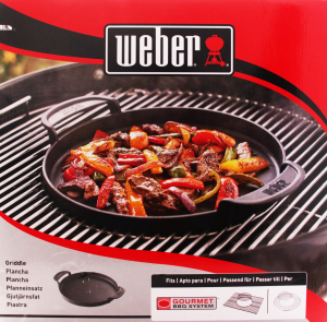 Сковорода Weber Gourmet BBQ System чугун 7421
