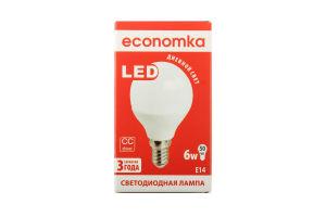 Лампа світлодіодна Economka LED G45 6W E14 4200K 1шт