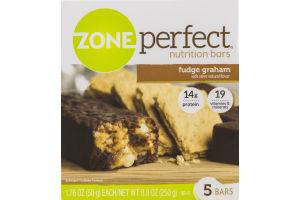 Zone Perfect Nutrition Bars Fudge Graham - 5 CT