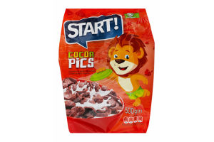 Сніданок Start Cocoa Pics зерновий готовий 500г х15