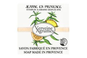 Мыло туалетное Verveine agrumes Jeanne en Provence 100г