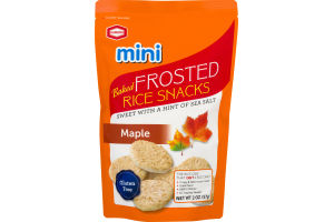 Kameda Mini Baked Frosted Rice Snacks Maple
