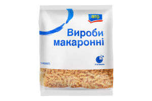 Изделия макаронные Спиральки Aro м/у 1кг