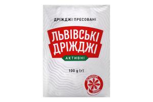 Дріжджі хлібопекарські пресовані Львівські дріжджі м/у 100г