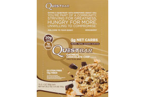 QuestBar Protein Bar Oatmeal Chocolate Chip - 12 CT