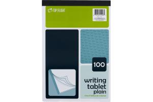 Top Flight 100 Writing Tablet Plain