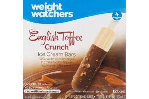 Weight Watchers Ice Cream Bars English Toffee Crunch - 12 CT