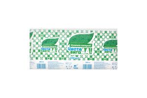 Чиста ВигоДА! Рушник паперовий макулатурний, V-складання зелений, 200 шт.