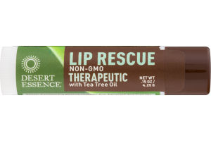 Desert Essence Lip Rescue Therapeutic with Tea Tree Oil
