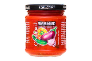 Соус томатный с садовыми овощами Casa Rinaldi с/б 190г