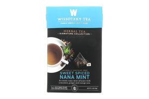 Чай травяной Wissotzky Tea мята сладко-пряный